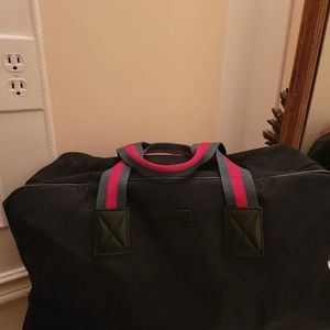 Gucci gg supreme canvas duffle bag